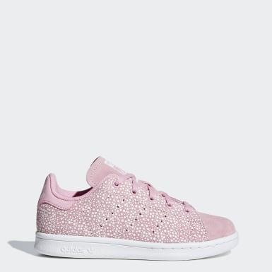 Children Originals Pink Stan Smith Shoes