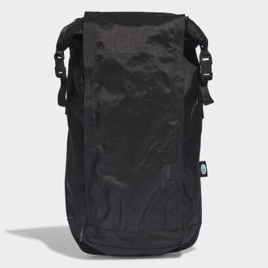 Originals Future Roll-Top Rucksack Schwarz