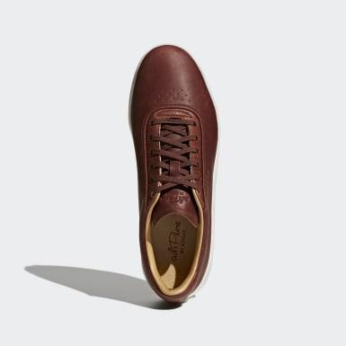 Sapatos Adipure SP Castanho Homem Golfe