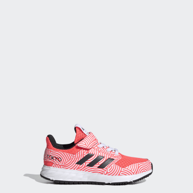 Chaussure FortaFaito Tokyo Top Strap Rose Filles Running
