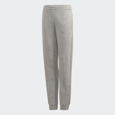 Youth 8-16 Years Athletics Grey Linear Joggers