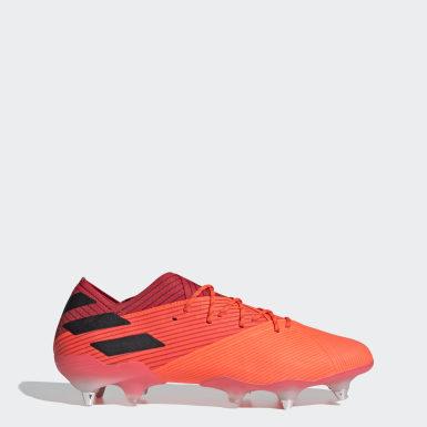 Fotbal oranžová Kopačky Nemeziz 19.1 Soft Ground