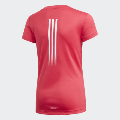 Camiseta AEROREADY Rosa Niña Training