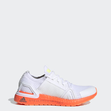 Dames adidas by Stella McCartney Wit adidas by Stella McCartney Ultraboost 20 Schoenen