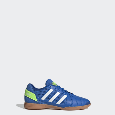 Kids Football Blue Top Sala Trainers