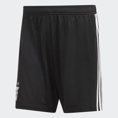 Men Football Black Benfica Away Shorts