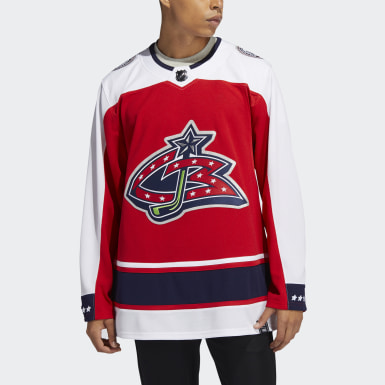 Men's Hockey Blue Jackets Adizero Reverse Retro Authentic Pro Jersey