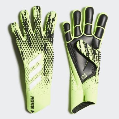 Fodbold Grøn Predator 20 Pro målmandshandsker
