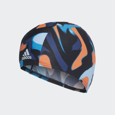 Primeblue Fabric Swim Cap