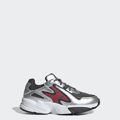 Kids Originals Grey Yung-96 Chasm Shoes