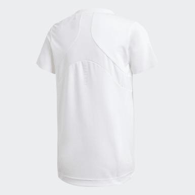 Girls Træning Hvid HEAT.RDY T-shirt