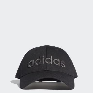 Training Siyah Embroidered Beyzbol Şapkası