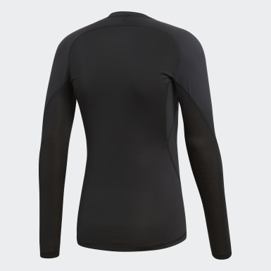 T-shirt Alphaskin Sport Noir Hommes HIIT