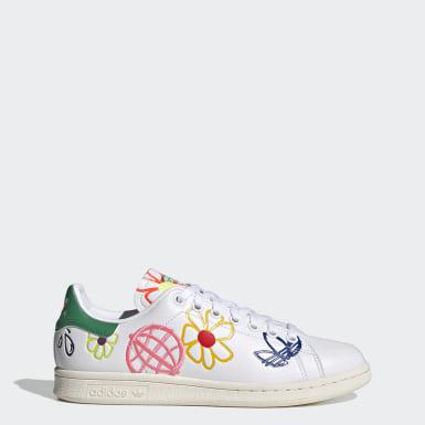 ผู้หญิง Originals สีขาว รองเท้า Stan Smith
