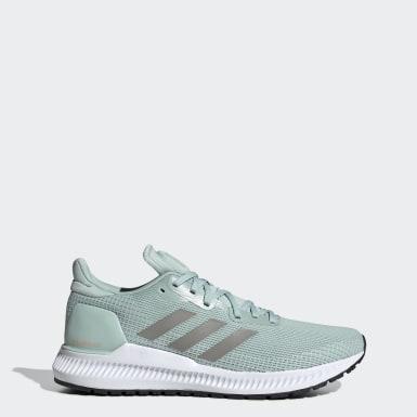 ผู้หญิง วิ่ง สีเขียว รองเท้า Solarblaze
