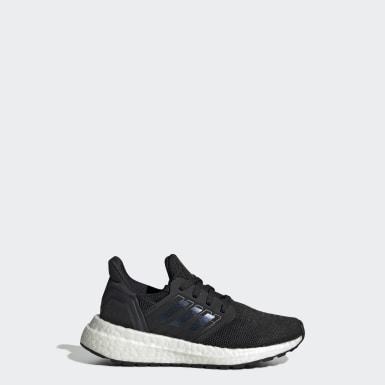 Children Running Black Ultraboost 20 Shoes