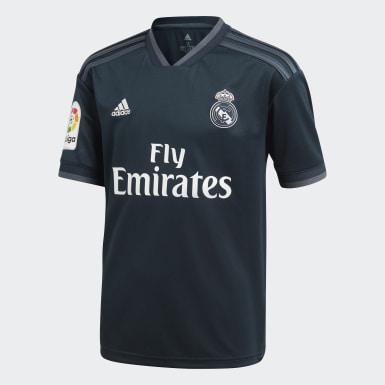 Mini kit Real Madrid Extérieur Gris Enfants Football