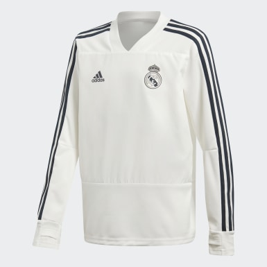 белый Тренировочный джемпер Реал Мадрид