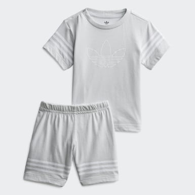 Outline T-shirt en Short Setje