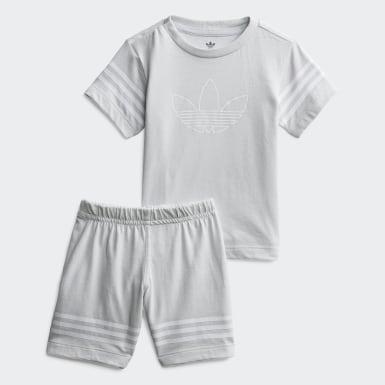 Outline Shorts Tee sæt