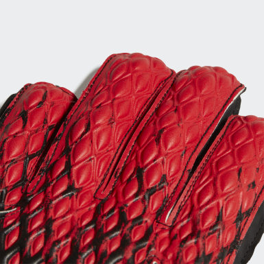 Youth Soccer Black Predator 20 Match Fingersave Gloves