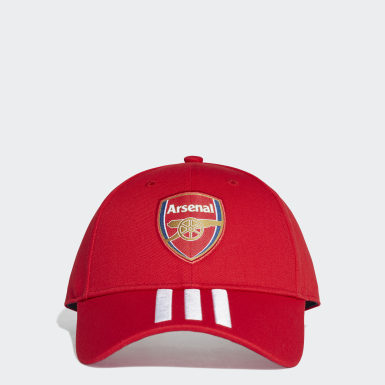 Soccer Red Arsenal Hat