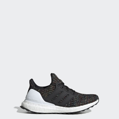 Youth Running Black Ultraboost Shoes