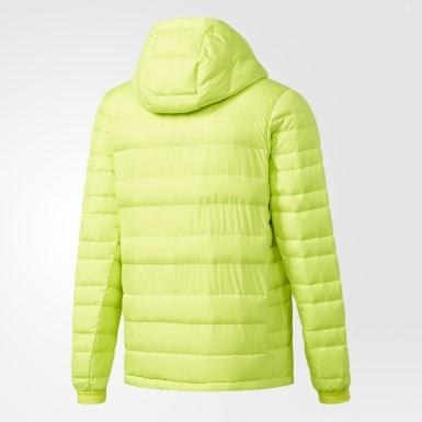желтый Пуховик Climawarm