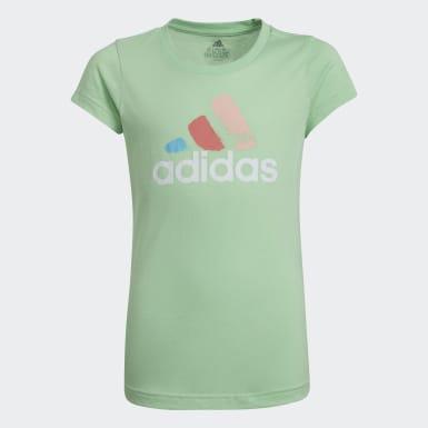 Camiseta Graphic Verde Niña Training