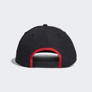 Men Golf Black Color Pop Hat