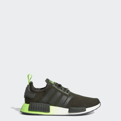 Youth 8-16 Years Originals Green NMD_R1 Star Wars Shoes