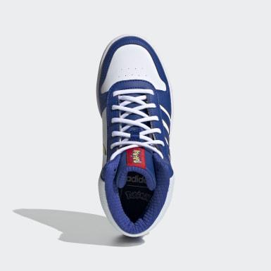 เด็ก Sport Inspired สีขาว รองเท้า Hoops 2.0 Mid