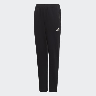 Boys Training Black Athletics Sport ID Joggers