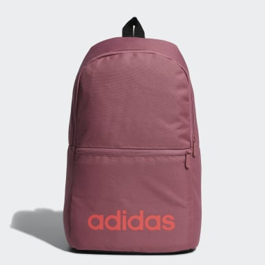 Sport Inspired Pink Linear Classic Daily Backpack
