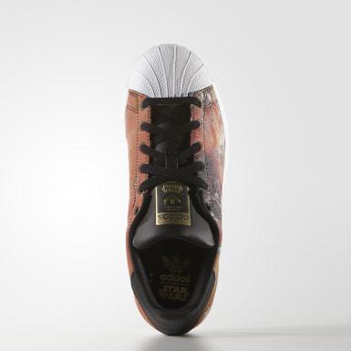 Youth Originals Black Superstar Star Wars Shoes