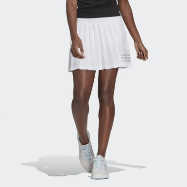 Club Tennis Pleated Skirt Bialy