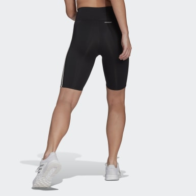 Women Cross Training Black Designed To Move High-Rise Short Sport Tights