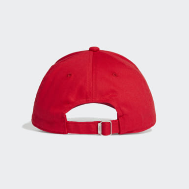 Gorra Béisbol Embroidered Rojo Training