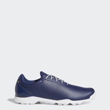 Dames Golf blauw Adipure SC Schoenen