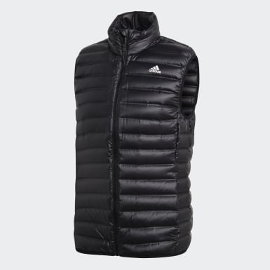 Men Mountain Biking Black Varilite Down Vest