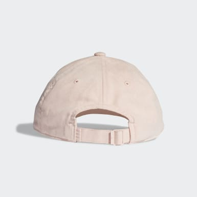 Originals Premium Essentials Suede Baseball Kappe Rosa