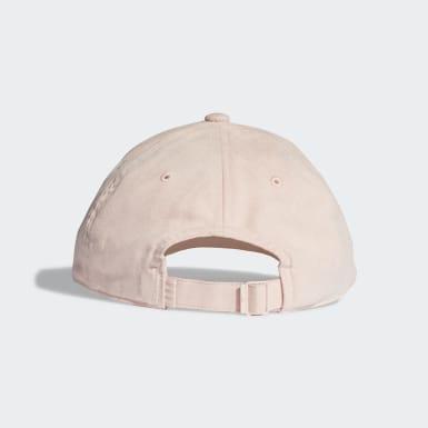 Originals Pink Premium Essentials Suede Baseball kasket