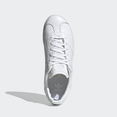 Sapatos Gazelle Branco Criança Originals
