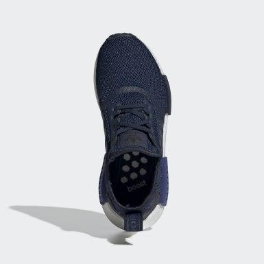 Sapatos NMD_R1 Azul Criança Originals