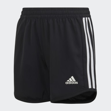 Shorts Equipment Long Preto Meninas Training