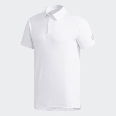 Erkek Tenis Beyaz Climachill Polo Tişört
