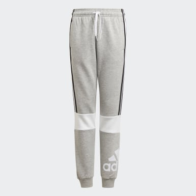 Boys Athletics Grey adidas Essentials Colorblock Joggers
