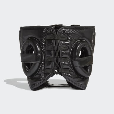 Boxing Black Hybrid Headguard
