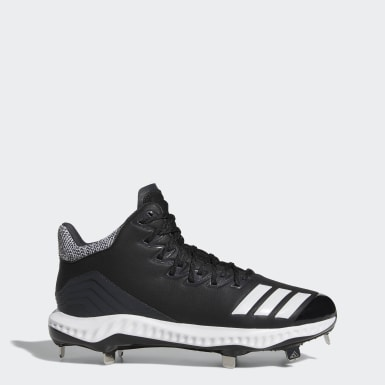 Men's Baseball Black Icon Bounce Mid Cleats