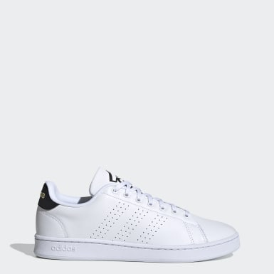 Men Sport Inspired White Advantage Shoes